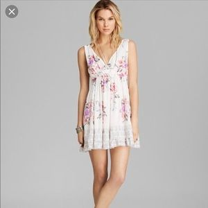 Free people White Floral Dress Juicy Combo